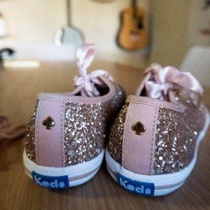 kate spade shoes | rose gold